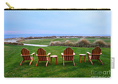 Chairs At The Eighteenth Hole Carry-all Pouch