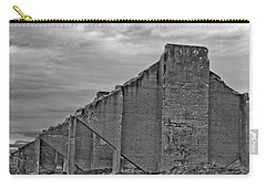 Carry-all Pouch featuring the photograph Chambers Bay Architectural Ruins II by Tikvah's Hope