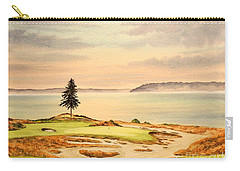 Chambers Bay Golf Course Hole 15 Carry-all Pouch