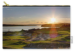 Chambers Bay Sun Flare - 2015 U.s. Open  Carry-all Pouch