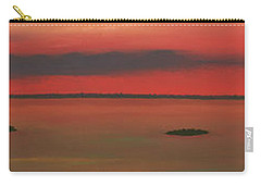 Chambers Island Sunset Carry-all Pouch