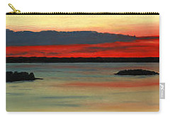 Chambers Island Sunset II Carry-all Pouch