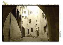 Chambery France Gate Carry-all Pouch by Katie Wing Vigil