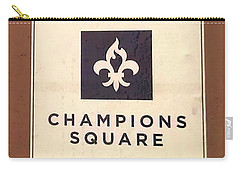 Champions Square Carry-all Pouch