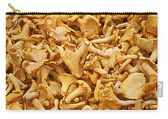 Chanterelle Mushroom Carry-all Pouch by Anonymous