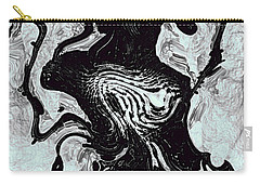 Carry-all Pouch featuring the digital art Chanteuse by Richard Thomas