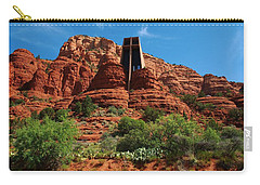 Chapel Of The Holy Cross Carry-all Pouch by Dany Lison