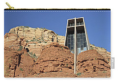 Carry-all Pouch featuring the photograph Chapel Of The Holy Cross by Penny Meyers