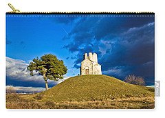 Chapel On Green Hill Nin Dalmatia Carry-all Pouch