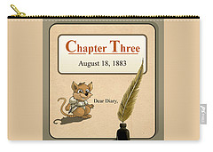 Carry-all Pouch featuring the painting Chapter Three by Reynold Jay