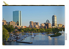 Charles River At Sunset Carry-all Pouch