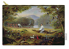 Charles Waterton Capturing A Cayman, 1825-26 Carry-all Pouch