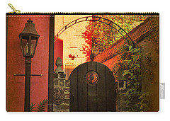 Charleston Garden Entrance Carry-all Pouch by Kathy Baccari