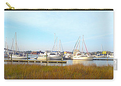 Charleston Harbor Boats Carry-all Pouch