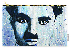 Charlie Chaplin Little Tramp Portrait Carry-all Pouch