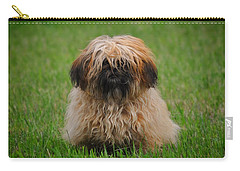 Carry-all Pouch featuring the photograph Charlie by Greg Norrell