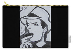 Charlie Sheen Carry-all Pouch by Kathy Marrs Chandler