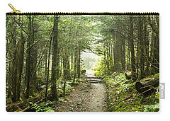 Carry-all Pouch featuring the photograph Charlies Bunion Bald Trail by Debbie Green
