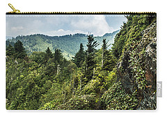 Carry-all Pouch featuring the photograph Charlies Bunion Trail by Debbie Green