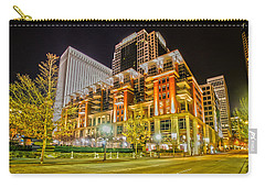 Charlotte City Skyline Night Scene Carry-all Pouch