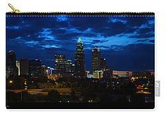 Charlotte North Carolina Panoramic Image Carry-all Pouch