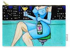Charming Lady At Night Carry-all Pouch