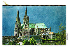 Chartres Cathedral Carry-all Pouch by Nikolyn McDonald