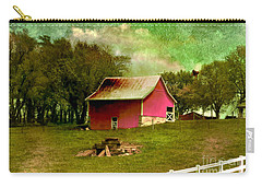 Carry-all Pouch featuring the photograph Chartreuse Of Legend by Liane Wright