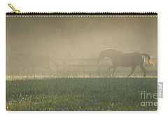 Carry-all Pouch featuring the photograph Chasing A Phantom by Carol Lynn Coronios