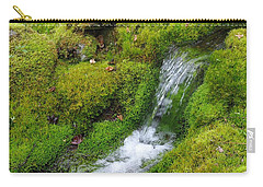 Carry-all Pouch featuring the photograph Chasing Waterfalls by Marilyn Wilson
