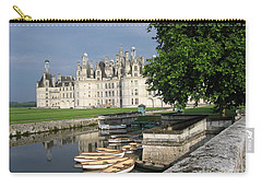 Chateau Chambord Boating Carry-all Pouch by HEVi FineArt