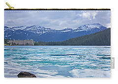 Chateau Lake Louise #2 Carry-all Pouch by Stuart Litoff