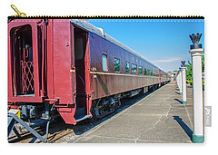 Carry-all Pouch featuring the photograph Chattanooga Choo Choo 1 by Susan  McMenamin