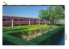 Carry-all Pouch featuring the photograph Chattanooga Choo Choo 2 by Susan  McMenamin