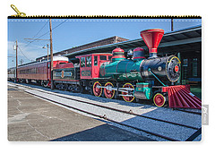 Carry-all Pouch featuring the photograph Chattanooga Choo Choo by Susan  McMenamin