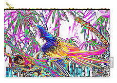 Cheerful Parrot. Colorful Art Collection. Promotion - August 2015 Carry-all Pouch