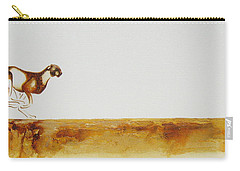 Cheetah Race - Original Artwork Carry-all Pouch