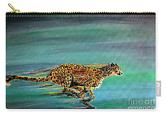Cheetah Run Carry-all Pouch