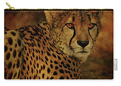 Cheetah Carry-all Pouch by Sandy Keeton