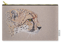 Cheetah Carry-all Pouch by Stephanie Grant