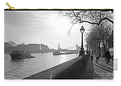 Chelsea Embankment London Uk 3 Carry-all Pouch