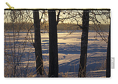 Chena River Trees Carry-all Pouch