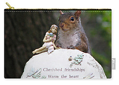 Carry-all Pouch featuring the photograph Cherished Friendships by John Haldane