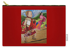 Cherokee Ribbon Dancers Carry-all Pouch