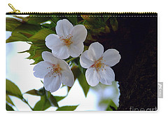 Carry-all Pouch featuring the photograph Cherry Blossom by Andrea Anderegg