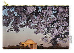 Cherry Blossom Tree With A Memorial Carry-all Pouch by Panoramic Images