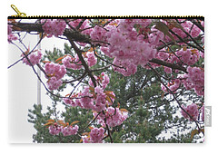 Cherry Blossoms 1 Carry-all Pouch by David Trotter