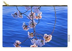Cherry Blossoms Hanging Over Tidal Basin Carry-all Pouch