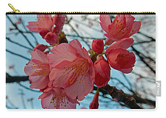 Cherry Blossoms Carry-all Pouch by Pamela Walton