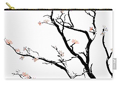 Cherry Blossoms Tree Carry-all Pouch
